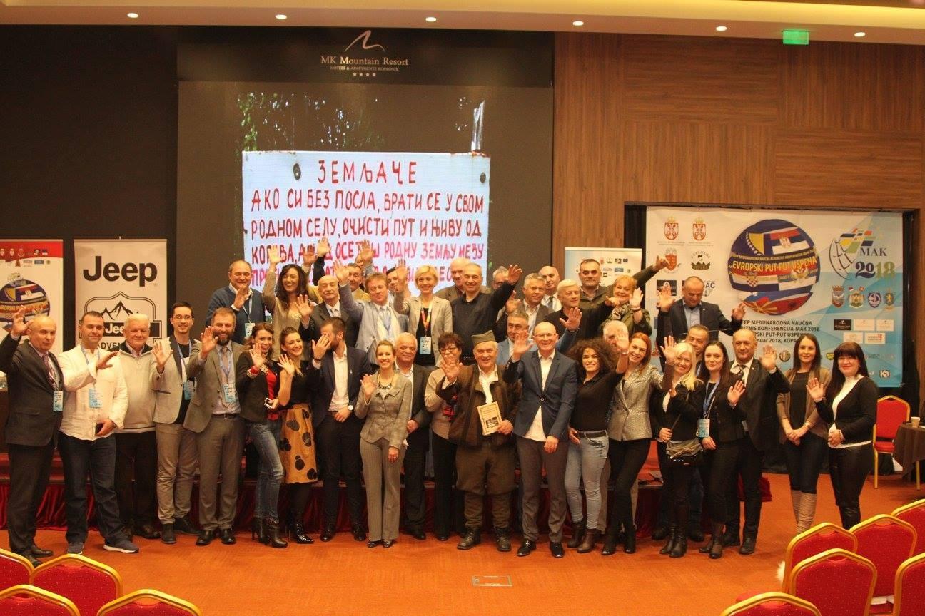 Međunarodna naučna agrobiznis konferencija MAK 25. i 26. januara 2018. na Kopaoniku